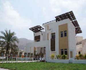 GreenNest, one of the winners in the Oman Echo House Design Competition